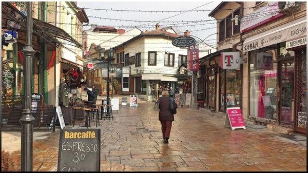 Σκόπια παλιά πόλη