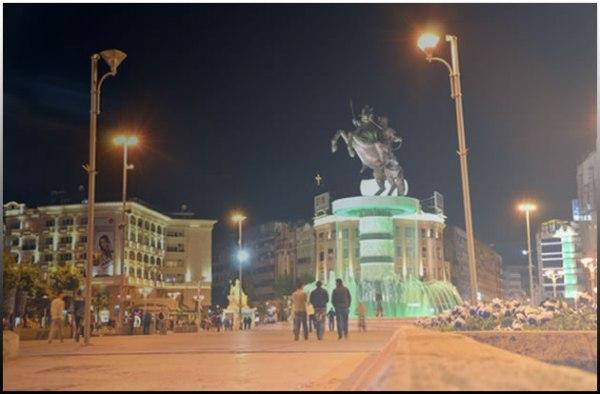 Κεντρική πλατεία Σκοπίων