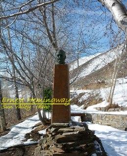 Αναμνηστική Προτομή - Sun Valley - Idaho